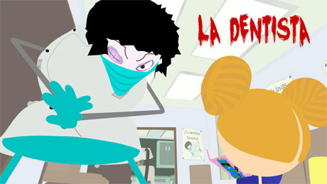 Image from La Dentista Music Video